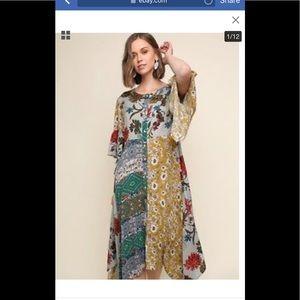 Umgee Hippie boho dress